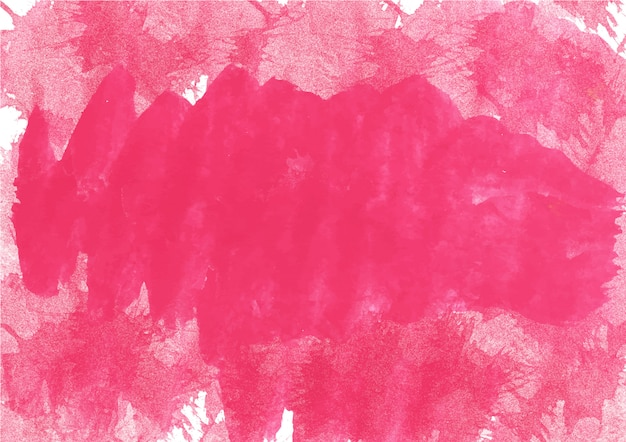 Nuances colorées de rouge. texture et fond abstrait aquarelle