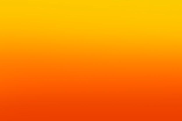 Nuances d'orange à l'échelle lumineuse