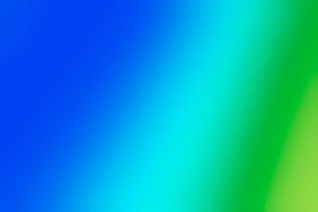 Nuances vertes et bleues