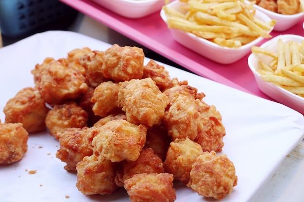 Nuggets at street food