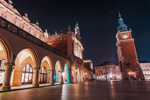 Nuit colorée de cracovie