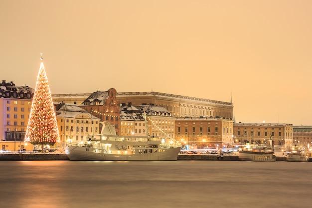 Nuit d'horizon de stockholm