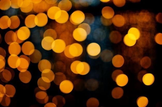 Nuit des lumières floues