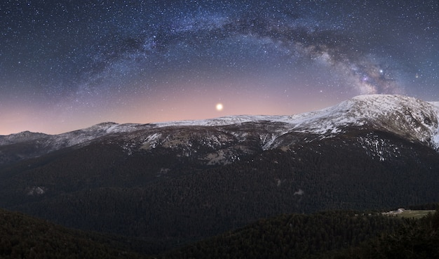 Nuit en montagne