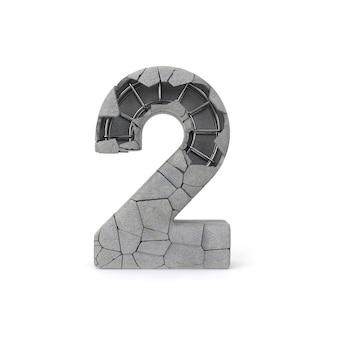 Numéro de béton 2