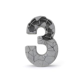 Numéro de béton 3