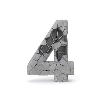 Numéro de béton 4