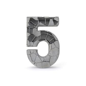 Numéro de béton 5