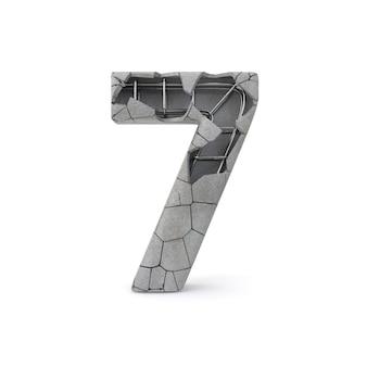 Numéro de béton 7