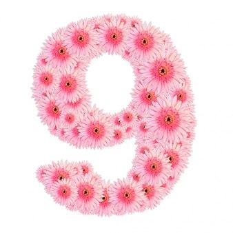 Numéro de fleur