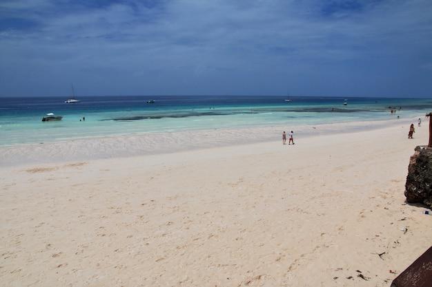 Nungwi est la plage de zanzibar, tanzanie