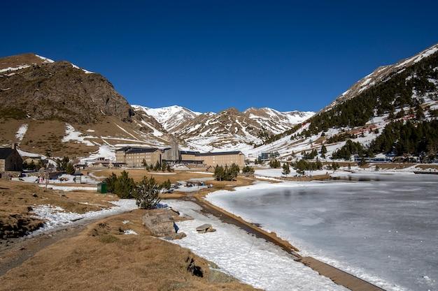 Nuria valley en hiver