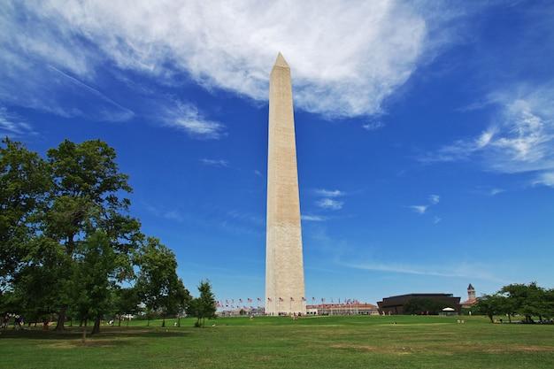 L'obélisque à washington, états-unis