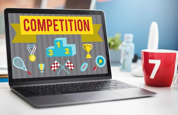 Objectifs de compétition match race concept