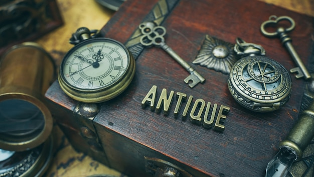 Objet de pirate antique