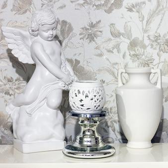 Objets anciens comme éléments décoratifs