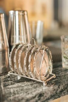 Objets idéaux pour préparer des cocktails