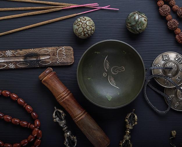 Objets religieux pour la méditation et la médecine alternative