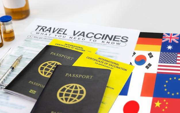 Obtenez un certificat international de vaccination avant le voyage