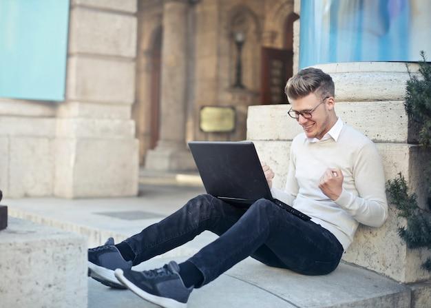 Obtenir un résultat en ligne