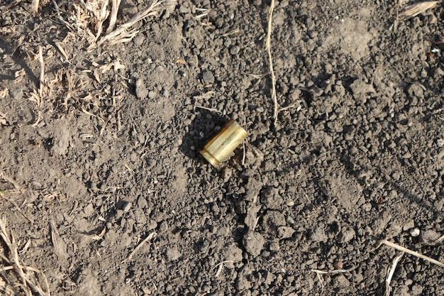 Obus au sol, cartouches de tir