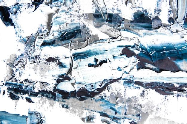 Océan. peinture texturée crème sur fond transparent, oeuvre abstraite. fond d'écran pour appareil, espace publicitaire pour la publicité. le produit d'art de l'artiste, bicolore. inspiration, occupation créative.