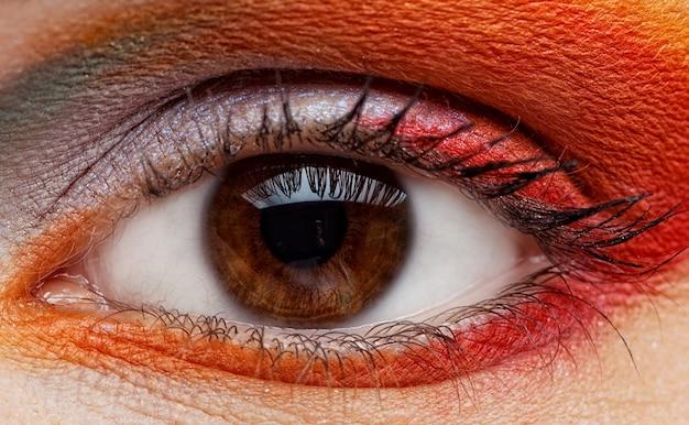 Oeil féminin