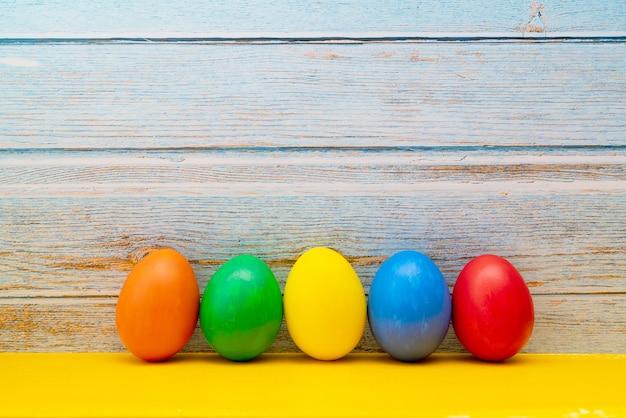 Oeuf de pâques, joyeuses pâques dimanche chasse décorations de vacances