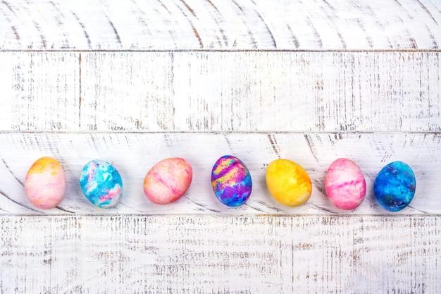 Oeufs de pâques en marbre