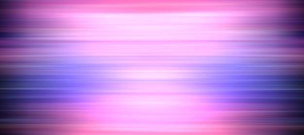 Oeuvre d'art abstrait à effet de mouvement linéaire. illustration avec des lignes à rayures horizontales dégradées de couleur bleu et rose pour la bannière. fond d'écran futuriste de la technologie abstraite de rendu 3d.