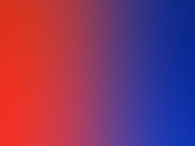Oeuvre de style dégradé de couleurs rouge et bleu.