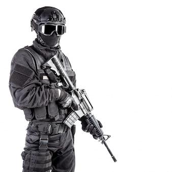 Officier de police spec ops swat