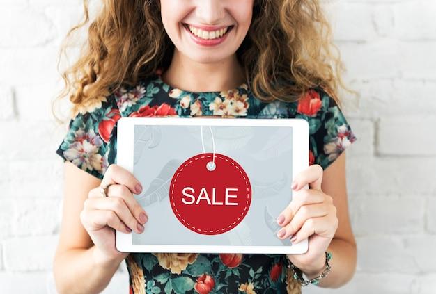Offre spéciale promotion promotion vente concept graphique