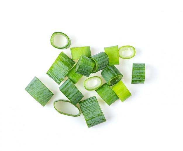 Oignons verts hachés