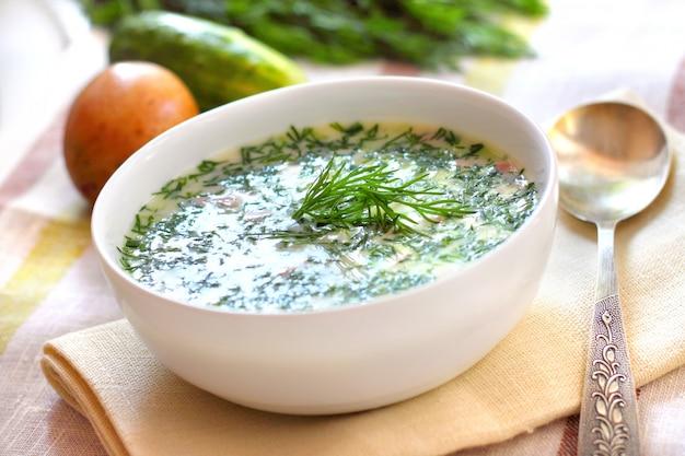 Okrochka - soupe froide russe