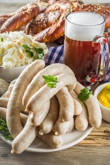 Oktoberfest nourriture et bière