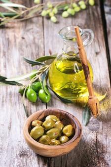 Olives et huile d'olive