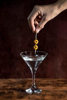 Olives pour boisson gazeuse