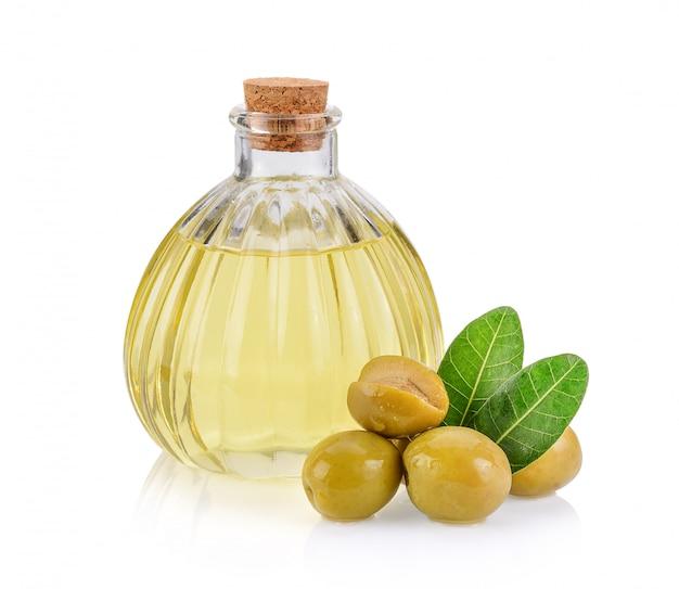 Olives vertes et huile