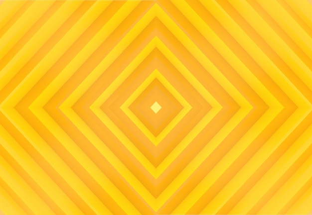 Ombre jaune moderne ton couleur grille carré art mur fond.