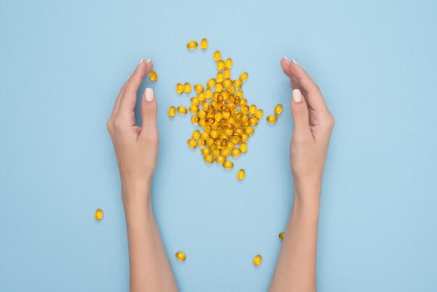 Oméga 3 capsules