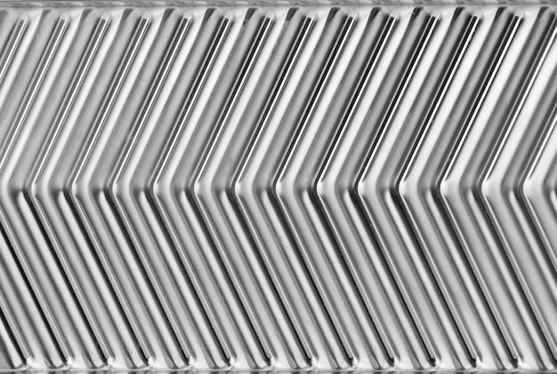 Ondes métalliques abstraites. utiliser pour la texture ou l'arrière-plan