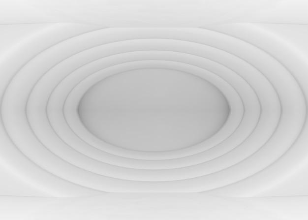 Ondulation blanche moderne abstrait elipse fond de mur de forme