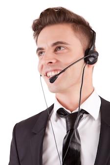 Opérateur téléphonique sympathique