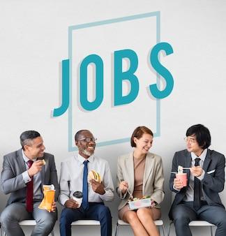 Opportunité d'emploi embaucher des emplois icône