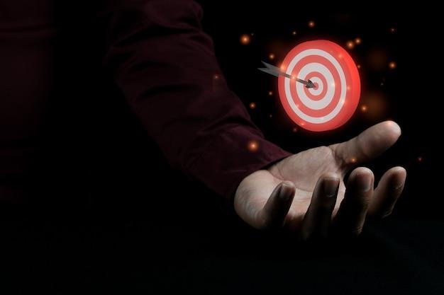 Optimisation des moteurs de recherche idée de concept photographique à faible luminosité pour la publicité d'entreprise