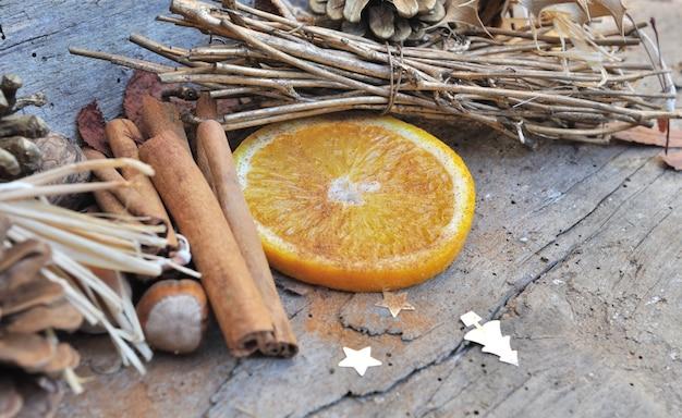 Orange et cannelle pour noël