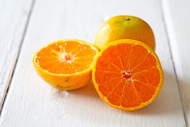 Oranges japonaises à sucer