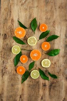 Oranges, mandarines et citrons