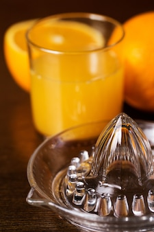 Oranges et son jus